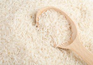bílá a zdravá rýže basmati