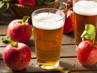 Cidre, alkoholický nápoj z jablek