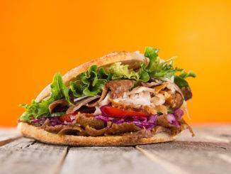 Turecký pokrm Kebab