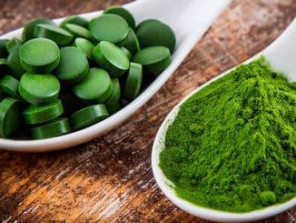 Chlorella v prášku a tabletkách