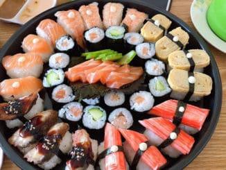 Sushi v Thajsku