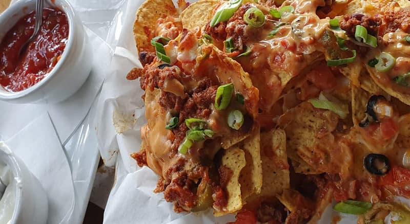 Tradiční mexické nachos