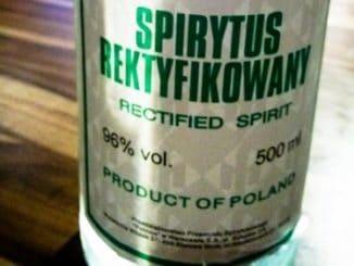 Spirytus: nesmírně silná vodka, po které lidé i umírají