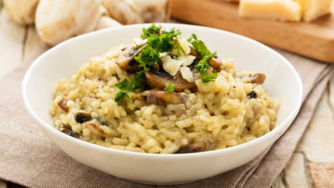 Rizoto: Tradiční italské jídlo, které u nás často není připravováno správně