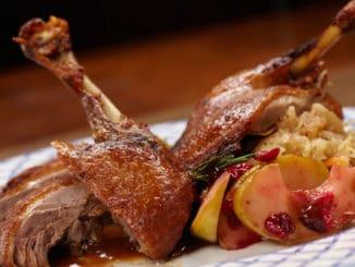 Pečená kachna: připravit si lze výtečnou a zdravější variantu