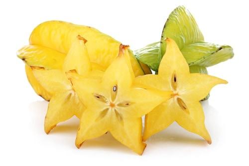 Karambola: exotické ovoce, které může sloužit jako krásná vánoční dekorace
