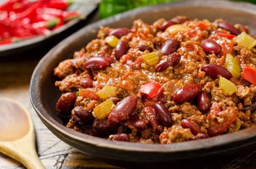 Chilli con carne: oficiální jídlo Texasu, do něhož lze dát vskutku netradiční ingredience