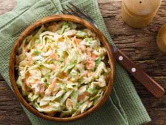 Skvělý recept na salát Coleslaw